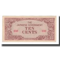 Billet, MALAYA, 10 Cents, Undated (1942), KM:M3a, NEUF - Malaysie