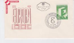 Austria 1959 FDC Europa CEPT (G76-144) - 1959