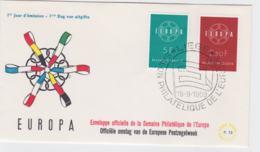Belgium 1959 FDC Europa CEPT (G76-144) - 1959