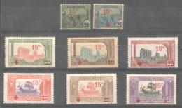 1918 Prisonners De Guere Yv 59-66 *  Charnières Légères - Ungebraucht