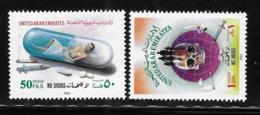 United Arab Emirates UAE 1993 Campaign Against Drug Drugs MNH - United Arab Emirates (General)
