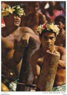 TAHITI - Native Men - Orchestre Tambours - Tahiti