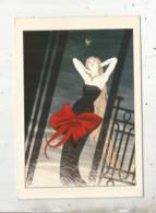 Cp, Pin Up,illustrateur L Aurent Vicomte, Cache Cache,n° 2 ,papillonage, Vierge - Pin-Ups