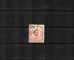 1898: 10 Nkr Lilarot Gezähnt 11 1/2, Gestempelt, Plattenfehler - Montenegro