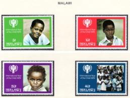 YEAR INTERN. OF CHILD - MALAWI - Mi. Nr.  328/331 - NH - (6532-10.) - Malawi (1964-...)
