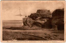 6BB 525. SAINT BREVIN L' OCEAN - LES ROCHERS DU POINTEAI - Saint-Brevin-l'Océan