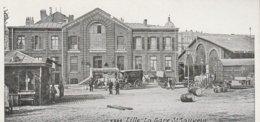 59 - LILLE - La Gare St Sauveur - Lille