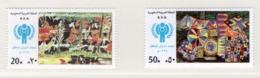YEAR INTERN. OF CHILD - ARABIA SAUDITA - Mi. Nr.  667/668 - NH - (6532-10.) - Arabia Saudita