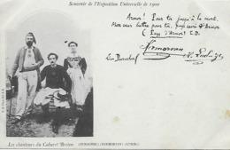 56)  Les Chanteurs Du Cabaret Breton Durocher Kermorvan Ludzig  - Souvenir De L' Exposition Universelle De 1900 - Autres Communes