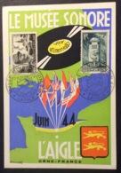 CM313 Carte Maximum Laigle Le Musée Sonore Juin 44 14/6/1953 T 815 Et 788 - 1950-59