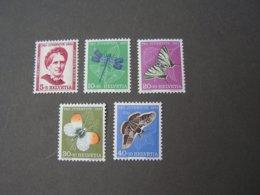 Schmeterlinge , Pro Juventute 1951  ** MNH  561-565  €  12,00 - Suisse