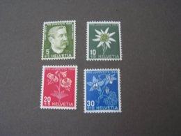 Schmeterlinge , Pro Juventute 1944 439-442  ** MNH  €  5,50 - Suisse