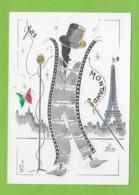 YVES MONTAND.Chanteur, Cinèma.Illustrateur Jean Luc Perrigault. - Artistes