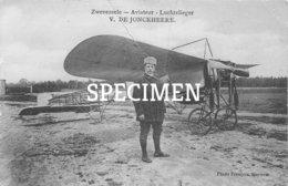 Aviateur Luchtvlieger V. De Jonckheere - Zwevezele - Wingene