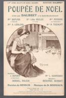 """Partition """"petit Format""""   POUPEE DE NOEL ,    Par DALBRET, 1909 Couv De GUIMMEL  (MPA PF 188) - Musique & Instruments"""