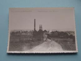 """Charbonnage """" La Meuse """" >   Villers-le-Bouillet ( Copie / Copy De Carte Postale ) Anno 19?? ( Zie Foto Details ) ! - Villers-le-Bouillet"""