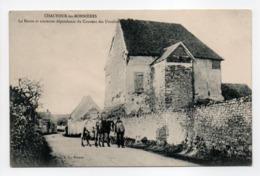 - CPA CHAUFOUR-LES-BONNIÈRES (78) - La Route Et Ancienne Dépendance Du Couvent Des Ursulines - Photo A. L. - - France