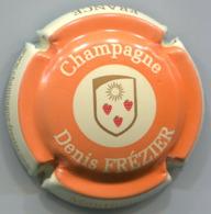 CAPSULE-CHAMPAGNE FREZIER Denis N°03 Orange & Crème - Altri