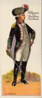 Thematiques Chromo Militaria Collection Du Chocolat Lombart Officier La Fayette Illustrateur H Gray - Lombart