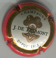CAPSULE-CHAMPAGNE TELMONT DE J N°27 Contour Rouge - Autres