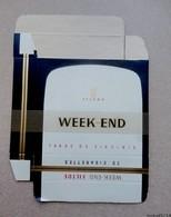Etui Carton:  Cigarettes WEEK END - Jamais Utilisé - Empty Cigarettes Boxes