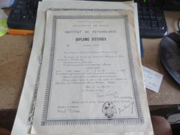 5 Diplome Divers - Diplomi E Pagelle