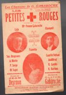 """(guerre 14-18) (CROIX ROUGE) Partition  """"petit Format"""" LES PETITES CROIX ROUGES  (MPA PF 198) - Otros"""