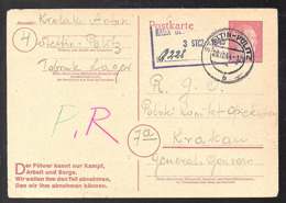 TOBRUK-Nazi-Lager Stettin-Pölitz, List Of Names > Krakau (please Read Description) (940) - 1939-44: 2ª Guerra Mundial