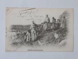 Kabylie - Dans Un Village - Envoyée Vers Cutry Par Rehon - Cachet Philippeville - Constantine ... Lot24 . - Skikda (Philippeville)