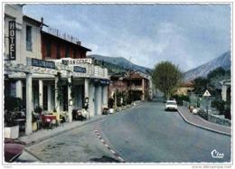 Carte Postale 06. Sospel  Hotel Restaurant De France Et Des Etrangers DS Citroën Trés Beau Plan - Sospel