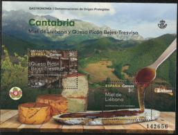 2019-ED. 5343 H.B. - Gastronomía. Denominaciones De Origen Protegidas. Cantabria -NUEVO - Blocks & Kleinbögen