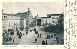 12403 - Favara - Piazza Cavour (Agrigento) F - Agrigento