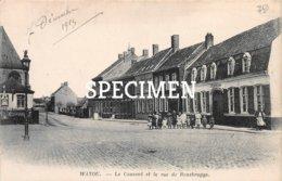 Le Couvent Et La Rue De Rousbrugge - Watou 1915 - Poperinge