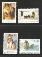 Australian Antarctic Territory 1994 Husky Dog Set Of 4 MNH - Unused Stamps