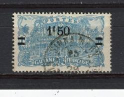 GUYANE - Y&T N° 104° - Place Des Palmiers à Cayenne - Guyane Française (1886-1949)