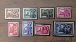 PDG. Cl1. P21.5. Fraîcheur Postale. Sans Charnière. COB. 631  >>> 638 - Nuevos