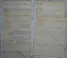 Bergilers Wanze Factures Sucrerie - 1900 – 1949