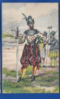 Histoire Des Costumes   Militaire  Lansquenet 1562    Illustrateur:  Pierre Albert LEROUX - Illustrators & Photographers