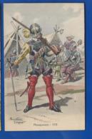 Histoire Des Costumes   Militaire     Mousquetaire 1572    Illustrateur:  Pierre Albert LEROUX - Illustrators & Photographers