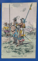 Histoire Des Costumes   Militaire     Infanterie Louis XIII 1647    Illustrateur:  Pierre Albert LEROUX - Illustrators & Photographers