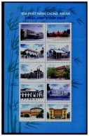 Vietnam Viet Nam MNH Perf Sheetlet 2007 : Join Issue W/ Singapore Laos Cambodia Indonesia Malaysia Brunei (Ms962) - Vietnam