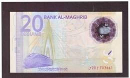 Maroc. Billet De 20 Dh Commémorant Le 20ème Anniversaire De SM Le Roi Mohamed VI. En Polymère. - Morocco