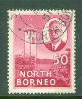 North Borneo: 1950/52   KGVI - Pictorial    SG366   50c  ['Jessleton']  Used - Borneo Del Nord (...-1963)