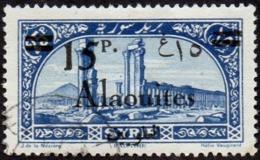 Alaouites Obl. N° 46 Site Ou Monument - Palmyre Surcharge 15p Sur 25p - Oblitérés