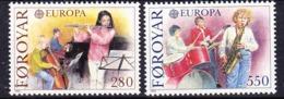 Europa Cept 1985 Faroe Islands 2v ** Mnh (44846A) - Europa-CEPT