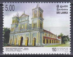 Sri Lanka 2007 Religion Christentum Architektur Architecture Bauwerke Buildings Kirchen Churches Maggona, Mi. 1682 ** - Sri Lanka (Ceylon) (1948-...)