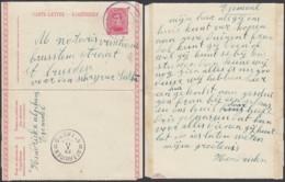 BELGIQUE EP 10c OBL DE FORTUNE DE FLEMAEL 1919 VERS St TROND  (DD) DC-4159 - 1915-1920 Albert I.