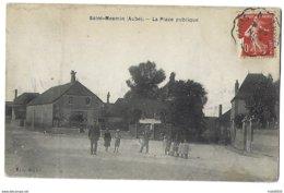 10 - SAINT-MESMIN - La Place Publique - Garde-Champêtre - 1908 - France