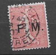 1905 USED France, Frankreich, Gestempeld - Gebruikt