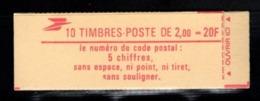 Carnet YT 2274 C3 LIBERTE DE DELACROIX 2frs Ouvert Mais Complet - Markenheftchen